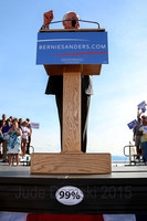May 2015 - Burlington, Vermont -- Bernie Sanders formally announces his candidacy for U.S. President.