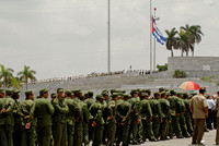 Cubans line up to pay respect to Vilma Espin, Cuban Revolutionary and wife to Raul Castro, June 2007