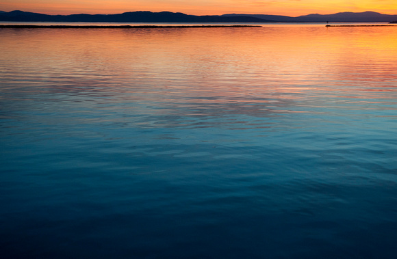 Lake Champlain, April 2015.